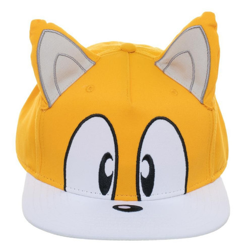 Tails Big Face Snapback Cap