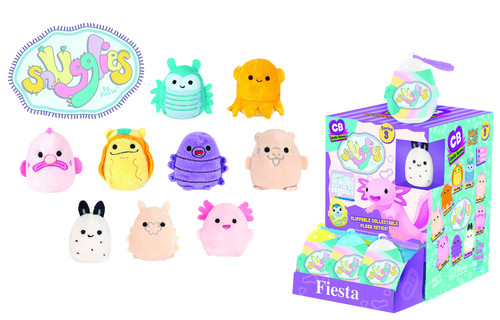 Fiesta Monster Snugglies Mini Plush Clip-on : Series 3