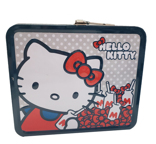 Hello Kitty Milk Tin Lunchbox