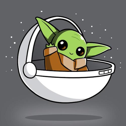 Tee Turtle Star Wars: The Child Shirt (S)