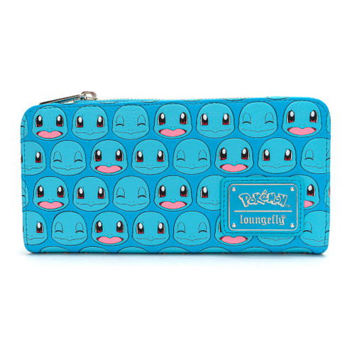 POKEMON SQUIRTLE FACES AOP FLAP WALLET