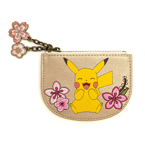 POKEMON PIKACHU AND EEVEE FLORAL FRIENDSHIP CARDHOLDER