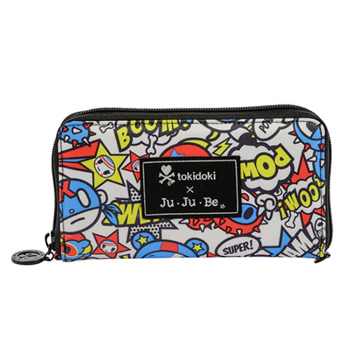 Ju-Ju-Be Be Spendy Sweet Victory Zip Wallet Open Box