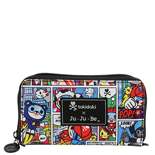 Ju-Ju-Be Be Spendy Super Toki Zip Wallet Open Box