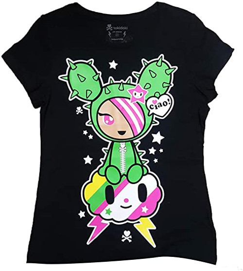 Tokidoki SandStorm Sandy black 10th Anniversary Black Tee