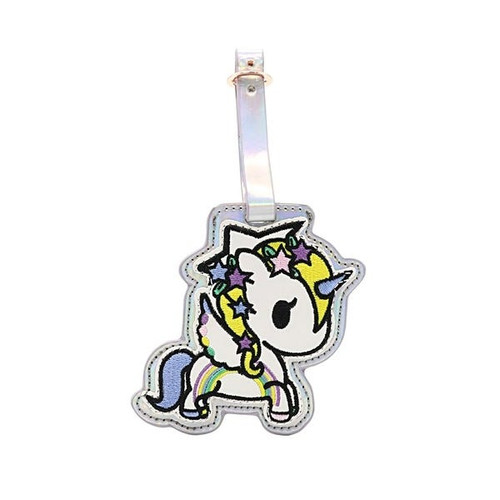 Tokidoki Camo Kawaii Unicorno Luggage Tag
