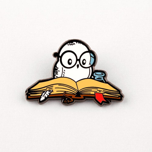 Reading is Magical enamel Pin