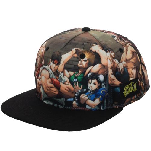 Capcom: Street Fighter Sublimated Snapback
