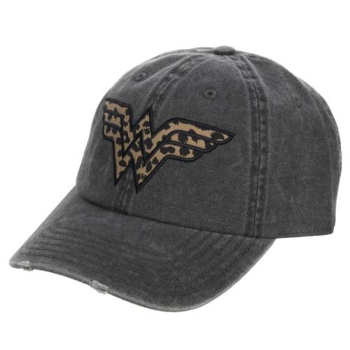 Wonder Woman: Cheetah Pigment Dye Distressed Hat