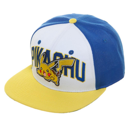 Pokemon: Pikachu Colorblock Snapback