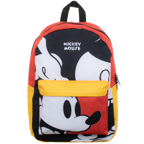 Disney: Mickey Mouse Oversized Sublimated Panel Print Backpack