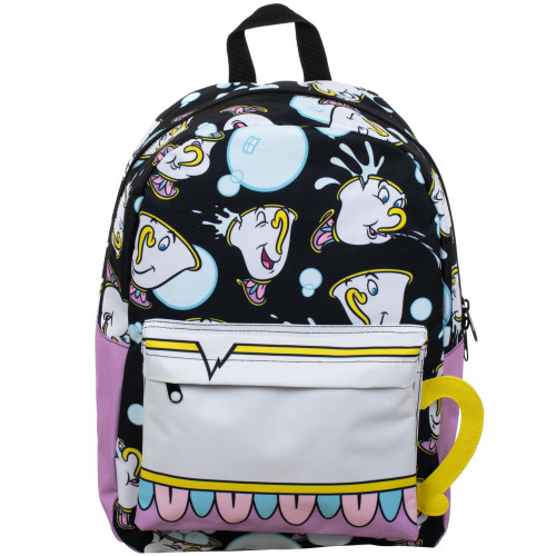 Beauty & the Beast: Chip Sublimated Panel Print Backpack