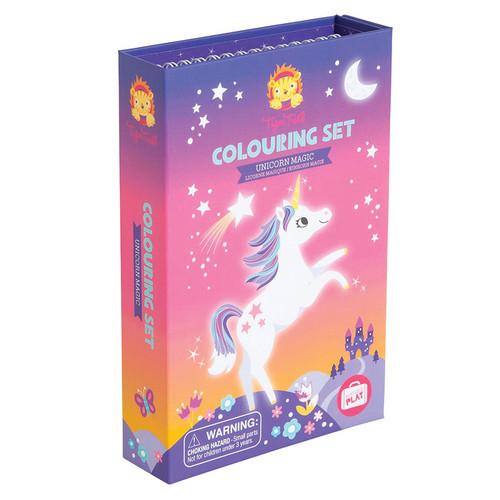 Schylling: Unicorn Magic Colouring Set