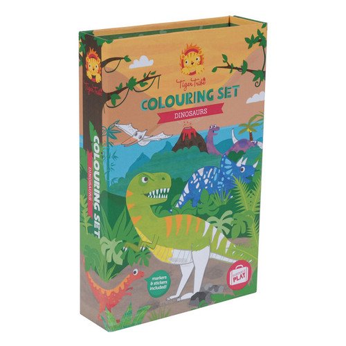 Schylling: Colouring Set Dinosaurs