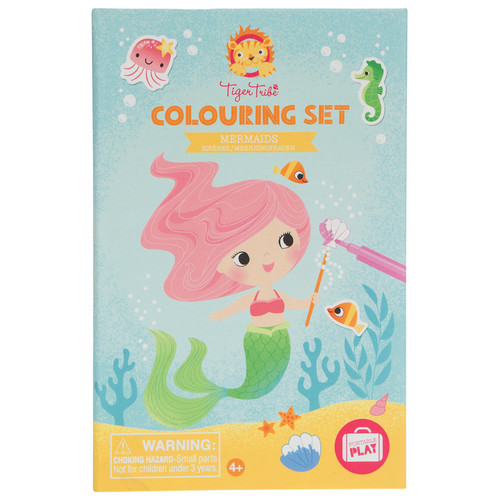 Schylling: Colouring Set Mermaids