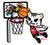 Tokidoki Slam dunk Tiger 5 in Sticker