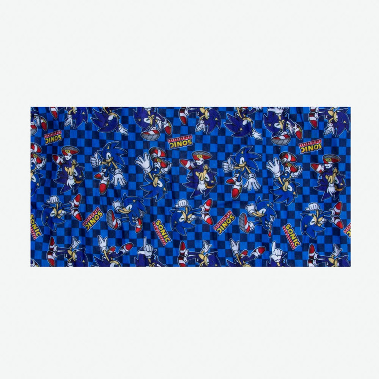 Sonic the Hedgehog Youth Neck Gaiter Sonic Checkered
