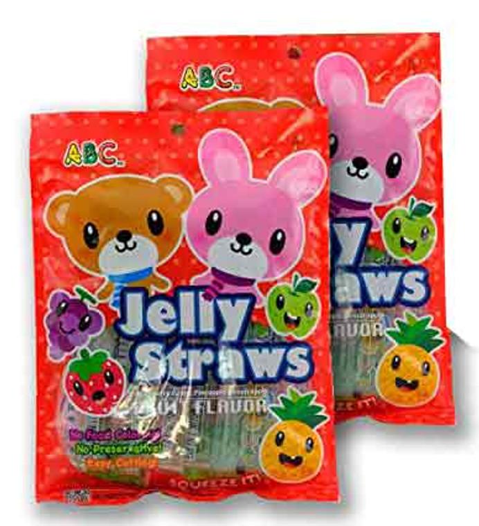 Jelly Straws - Assorted Fruit Flavors Tiktok Fruit Jelly Challenge