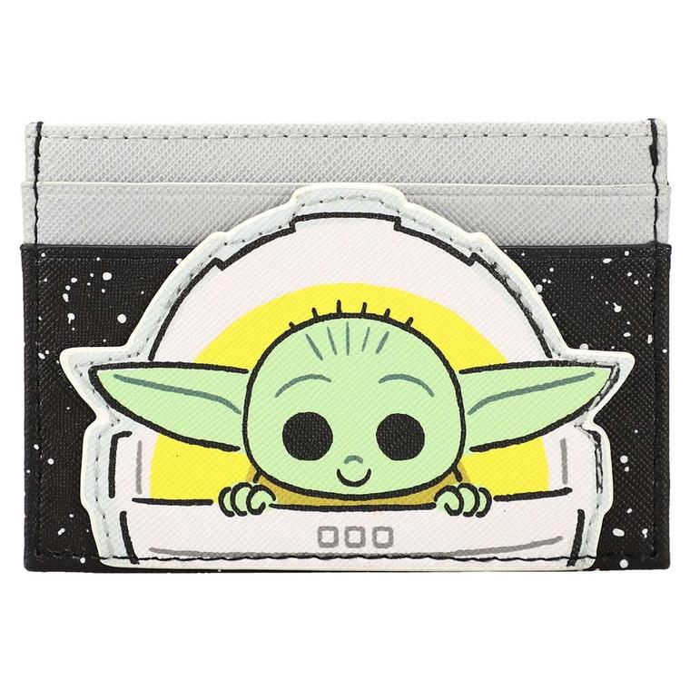 Star Wars The Mandalorian Grogu ID Card Wallet