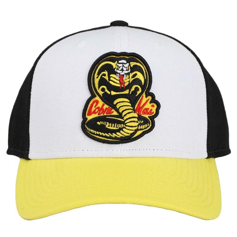 Cobra Kai No Mercy Embroidered Pre-Curved Snapback