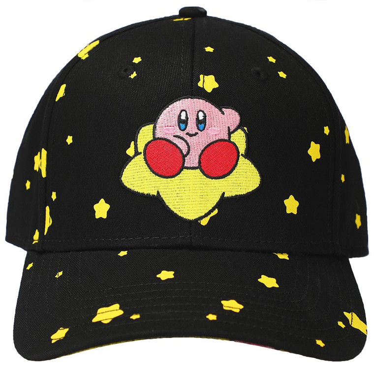 Kirby Embroidered Pre-Curved Bill Snapback