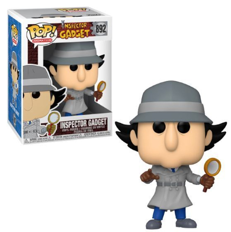 Funko Pop! Animation, #892: Inspector Gadget
