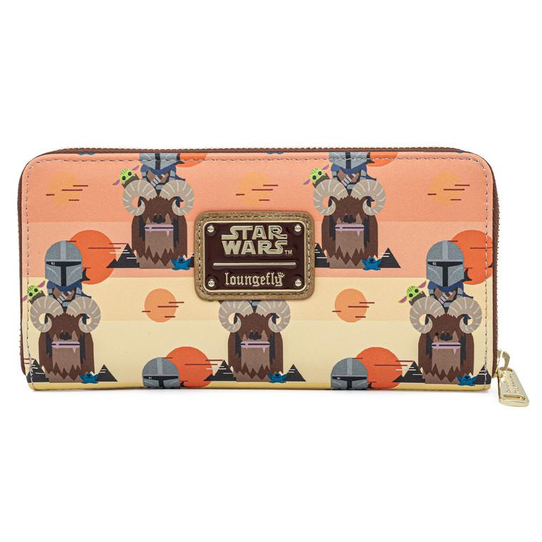 Loungefly x Star Wars The Mandalorian Bantha Ride Wallet