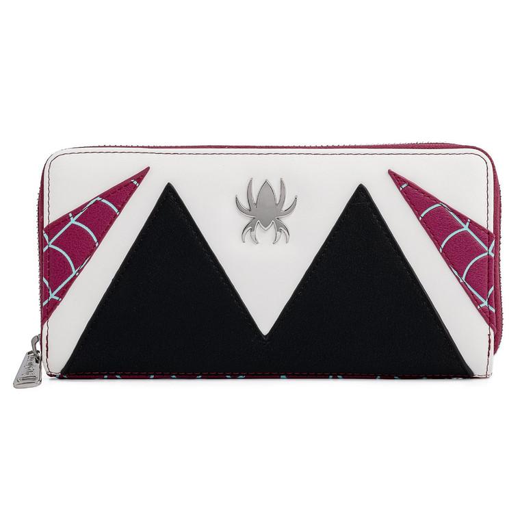 Loungefly Marvel Spider-Gwen Cosplay Zip Around Wallet.