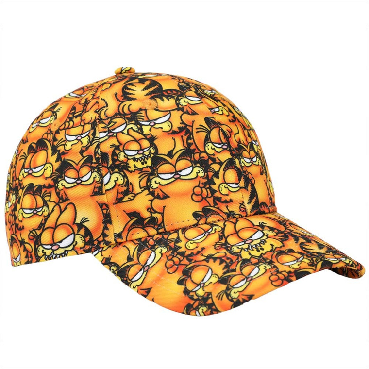 Garfield Airbrushed Character AOP Hat