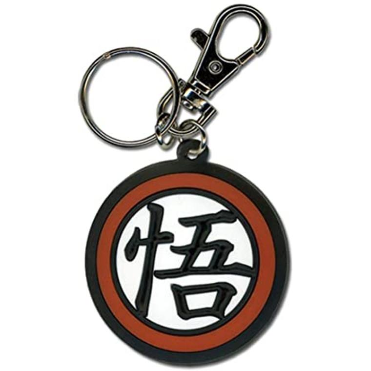 Dragon Ball Z Goku Symbol PVC Keychain