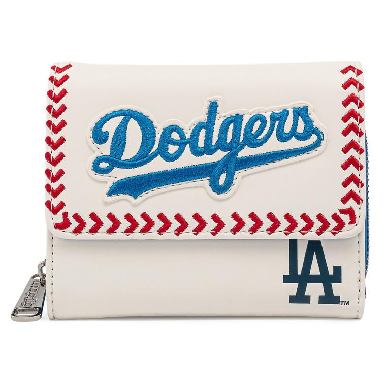 Loungefly MLB Dodgers Los Angeles Seam Stitch Wallet