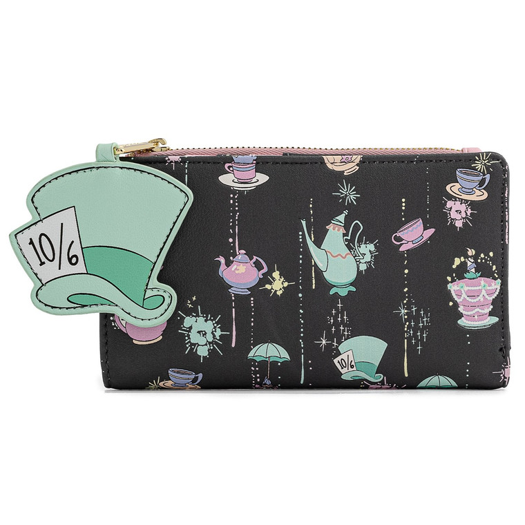 Loungefly Disney Alice in Wonderland A Very Merry Unbirthday to you Wallet