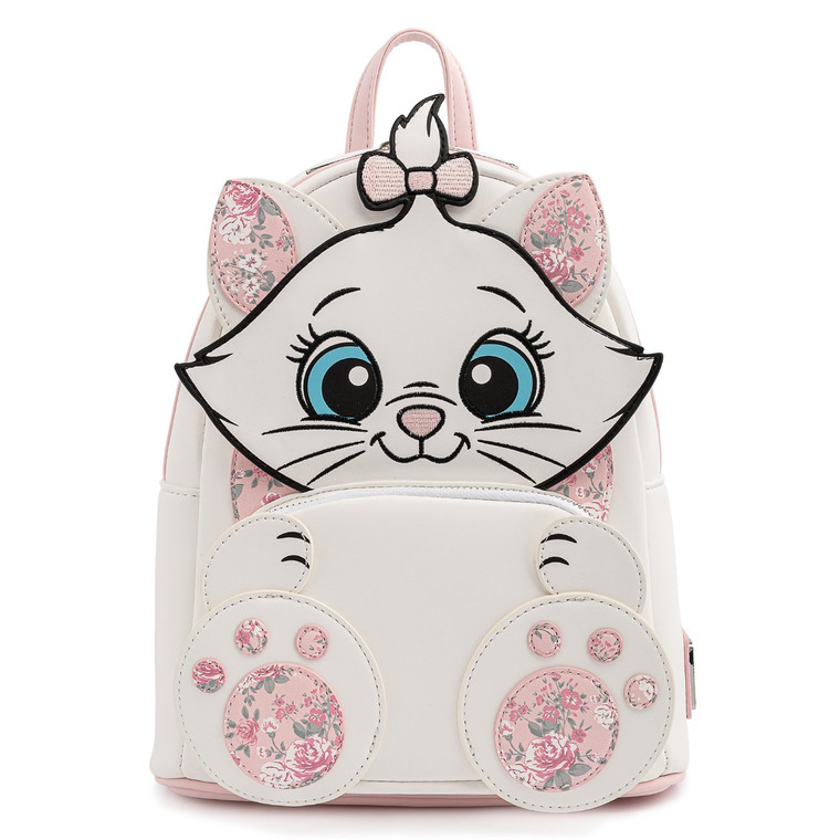 Loungefly Disney Marie Floral Mini Backpack