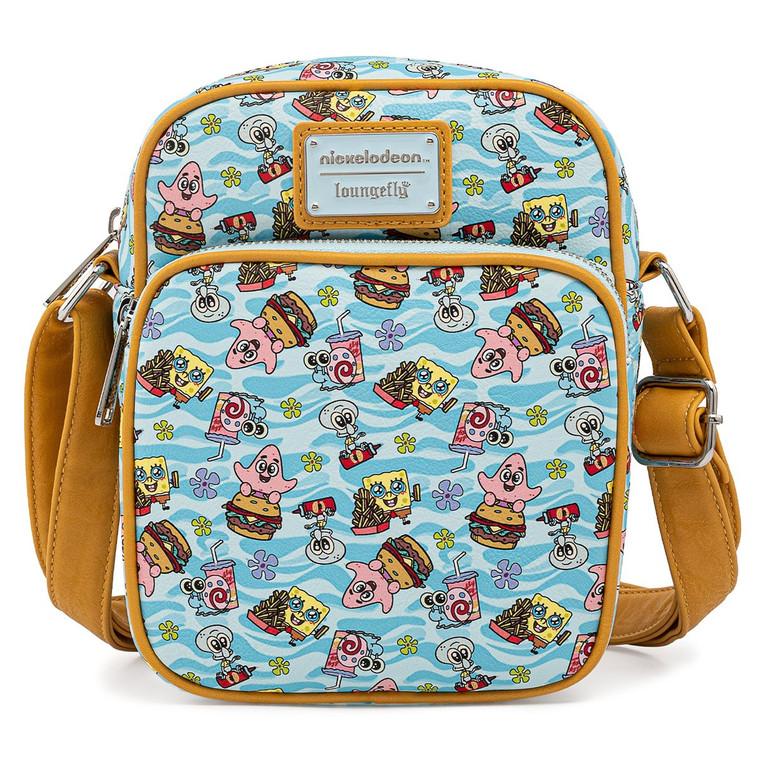 Loungefly SpongeBob SquarePants Passport Bag