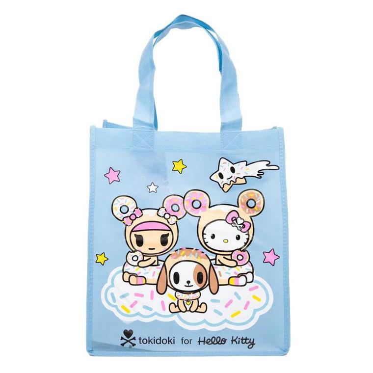 Hello Kitty x Tokidoki Blue Canvas Tote