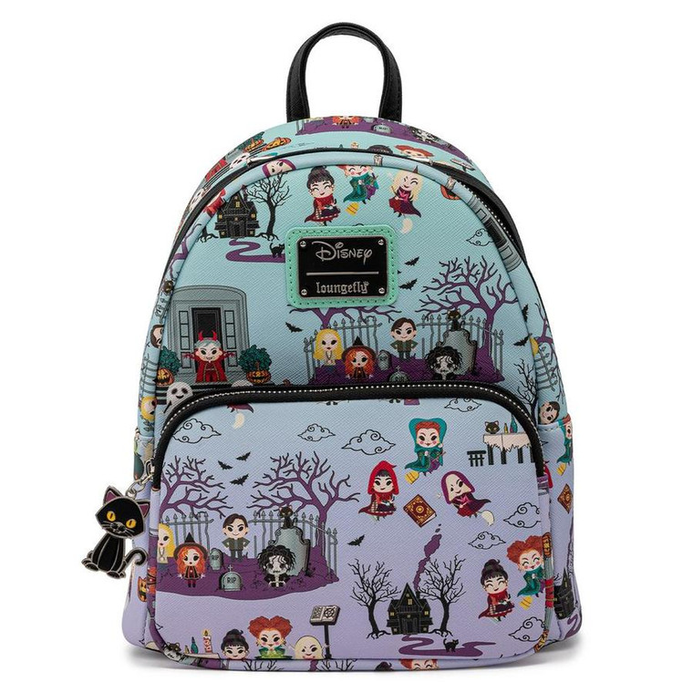 Loungefly Disney Hocus Pocus Scene AOP Mini Backpack