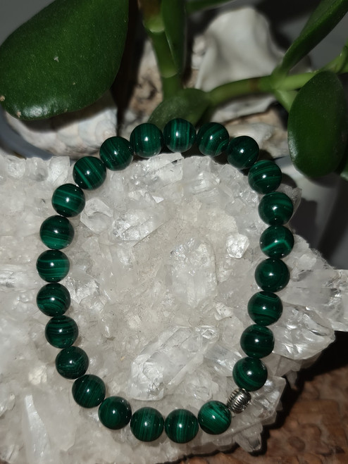 Bracelet 8mm - Malachite