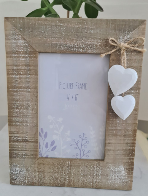 Picture frame - Wooden Heart