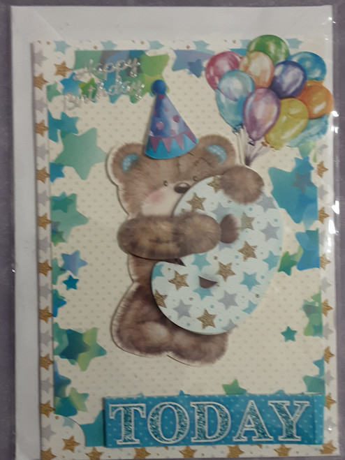 9th Birthday Cards