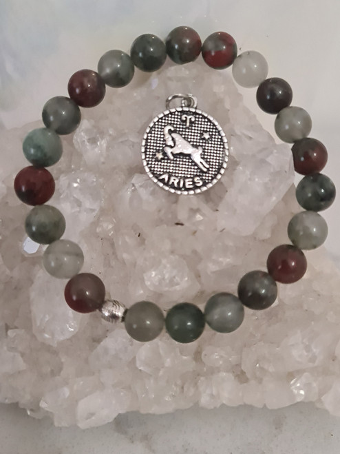 Aries Star Sign Bracelet and Pendant