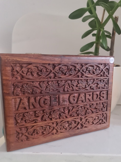 Wooden Box - Angel Cards