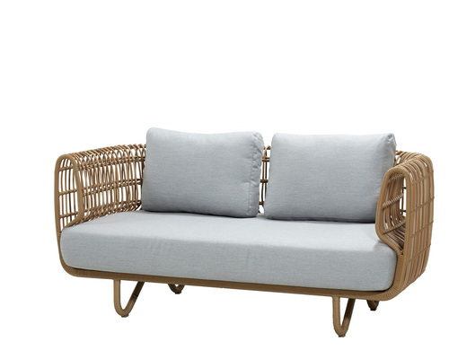 Cane-line - Nest 2-seater outdoor sofa