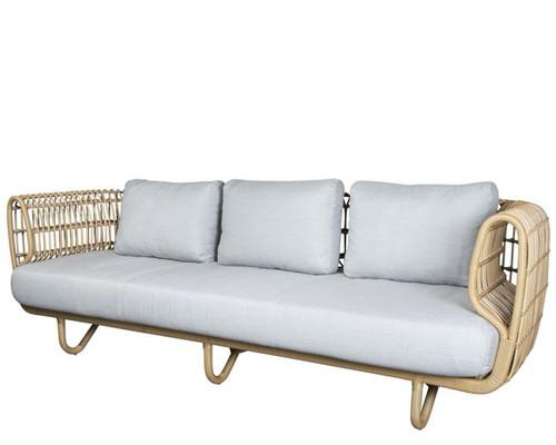 Cane-line - Nest 3 seater outdoor sofa