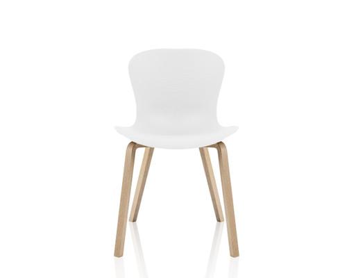 Fritz Hansen - NAP (KS52)  chair with wooden base