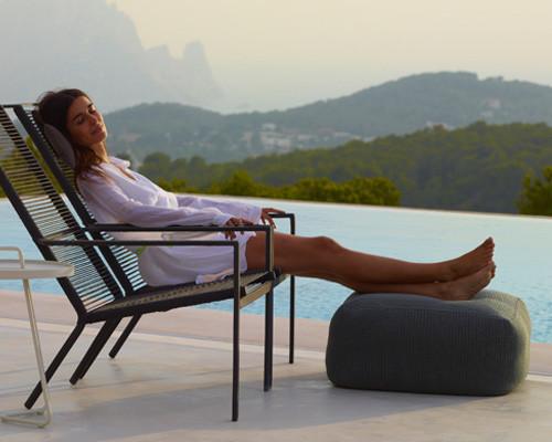 Cane-line - Divine footstool