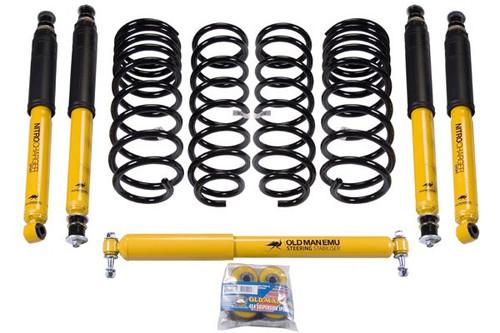 OME FJ80 J Lift Suspension Kit With Nitrocharger Sport Shocks