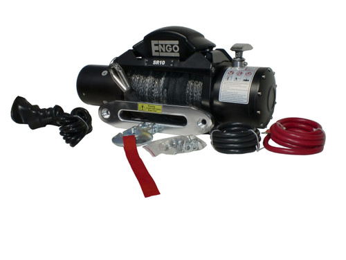 Engo Winch Model SR10S (10,000 lbs w/ Synthetic Rope)