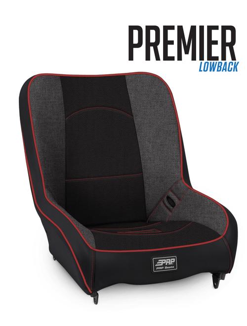 PRP Premier Low Back Seat