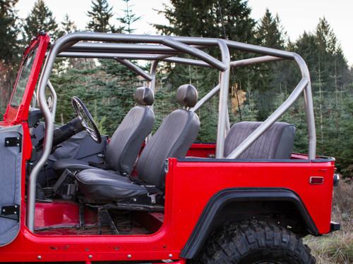 Metal Tech FJ40 Land Cruiser Pre-built Full Profile Roll Cage