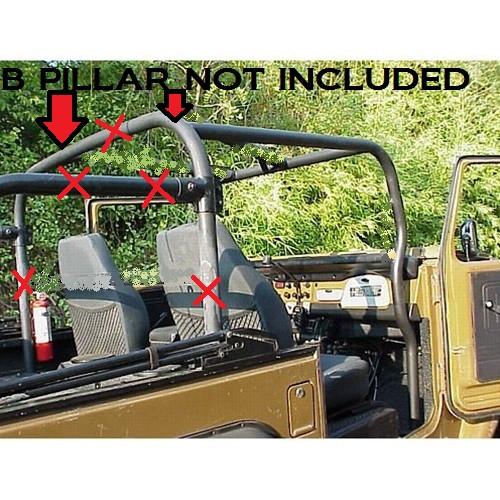 Metal Tech FJ40 Land Cruiser Front Profile Roll Cage Kit
